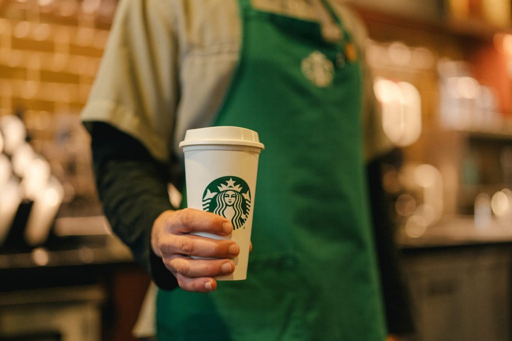 Starbucks Sustainability Commitment Reusable Cups © Starbucks Corporation