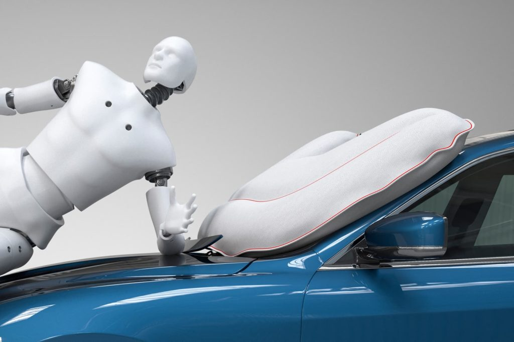 Autoliv Crash Test Dummy Closeup