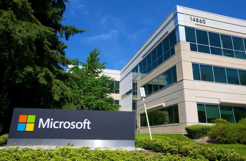 Microsoft Campus © Stephen Brashear, Getty Images